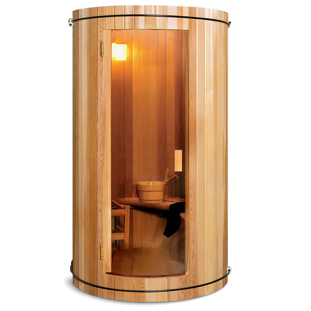 The Two Person Home Sauna Hammacher Schlemmer