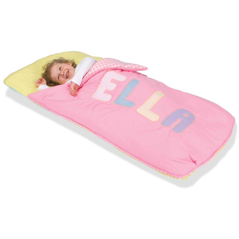 The personalized toddler sleeping bag hammacher schlemmer