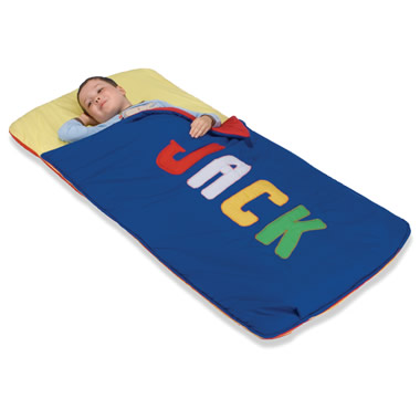 The Personalized Toddler Sleeping Bag.