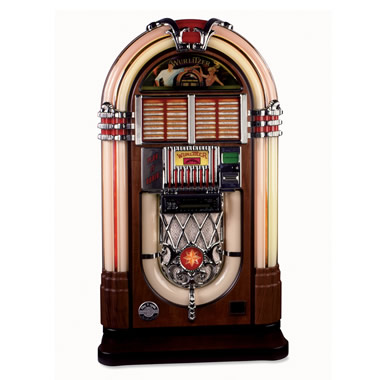 The Wurlitzer CD Jukebox with 50 CDs.