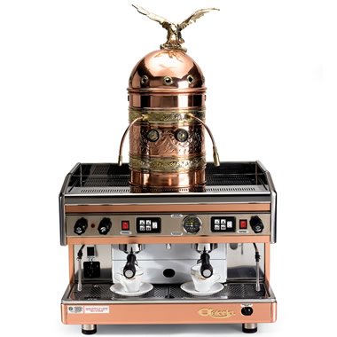 The Genuine Italian Astoria Dual Espresso Machine.