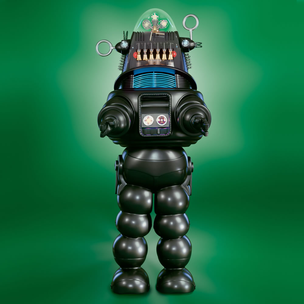 The Genuine 7 Foot Robby The Robot1