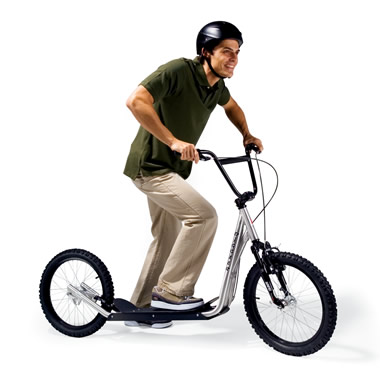 The Mountain Scooter.