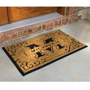 The Alma Mater Doormat.