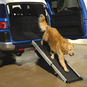 The Portable Telescoping Pet Ramp.