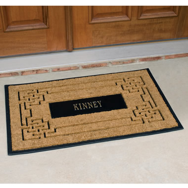 The Personalized Coir Doormat