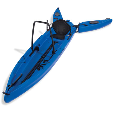 The Only Stand Up Fisherman's Kayak.