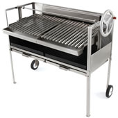 The Gourmand's Natural Hardwood Grill (24 Inch).