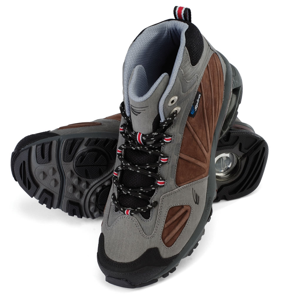 The Spring Loaded Hiking Boots 1