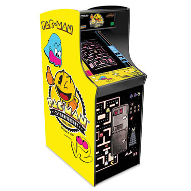 The Authentic Pac-Man Arcade Game.