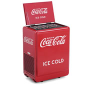 The Classic 1930s Coca-Cola Refrigerated Chest.