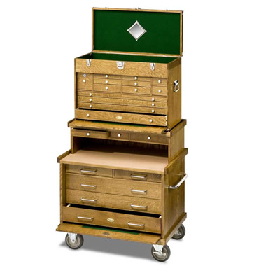 The Genuine Gerstner Oak Tool Chest