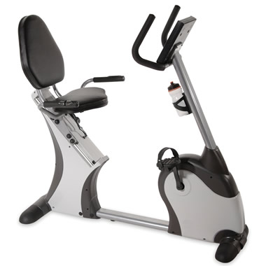 The Easy Access Recumbent Exercise Bicycle.