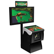 The Miniature Golf Arcade Game.