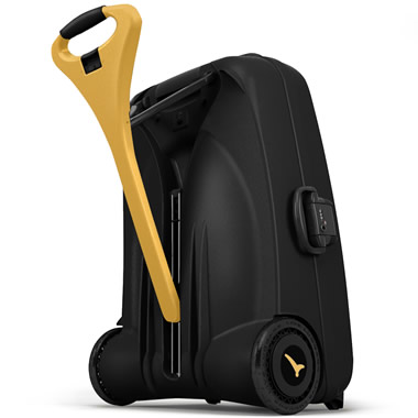 The Only Self Propelled Suitcase.