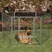 The Configurable Outdoor/Indoor Pet Pen.