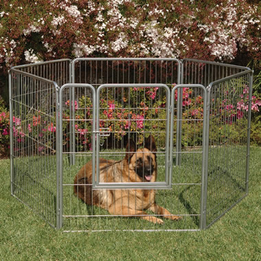 The Configurable Outdoor / Indoor Pet Pen