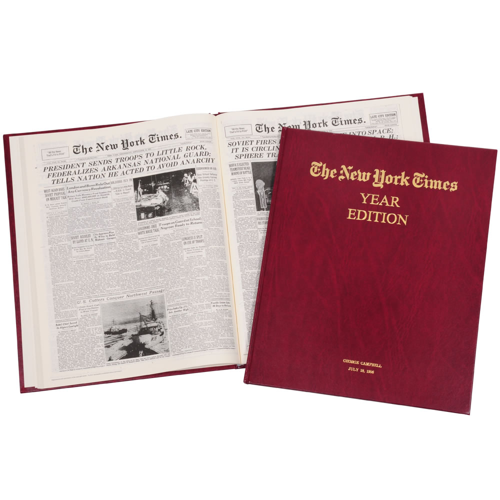 Complete New York TImes Birthday Edition