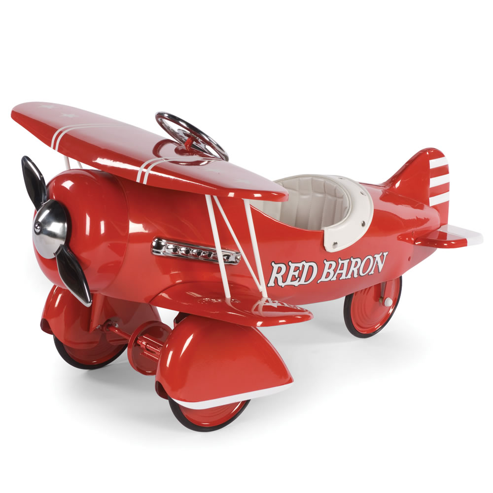 The Red Baron Pedal Biplane2