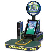The Video Arcade Miniature Golf Game.