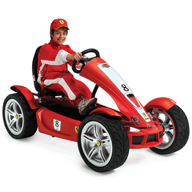 The High Performance Ferrari Pedal Car.