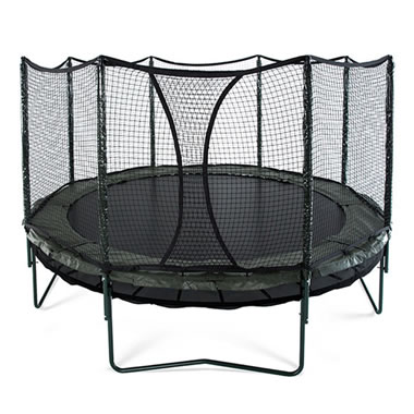 The Double Bounce Trampoline.