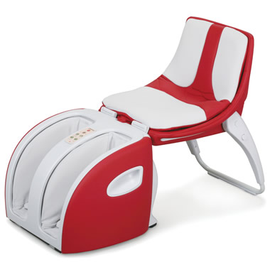 The Foldaway Massage Chair.
