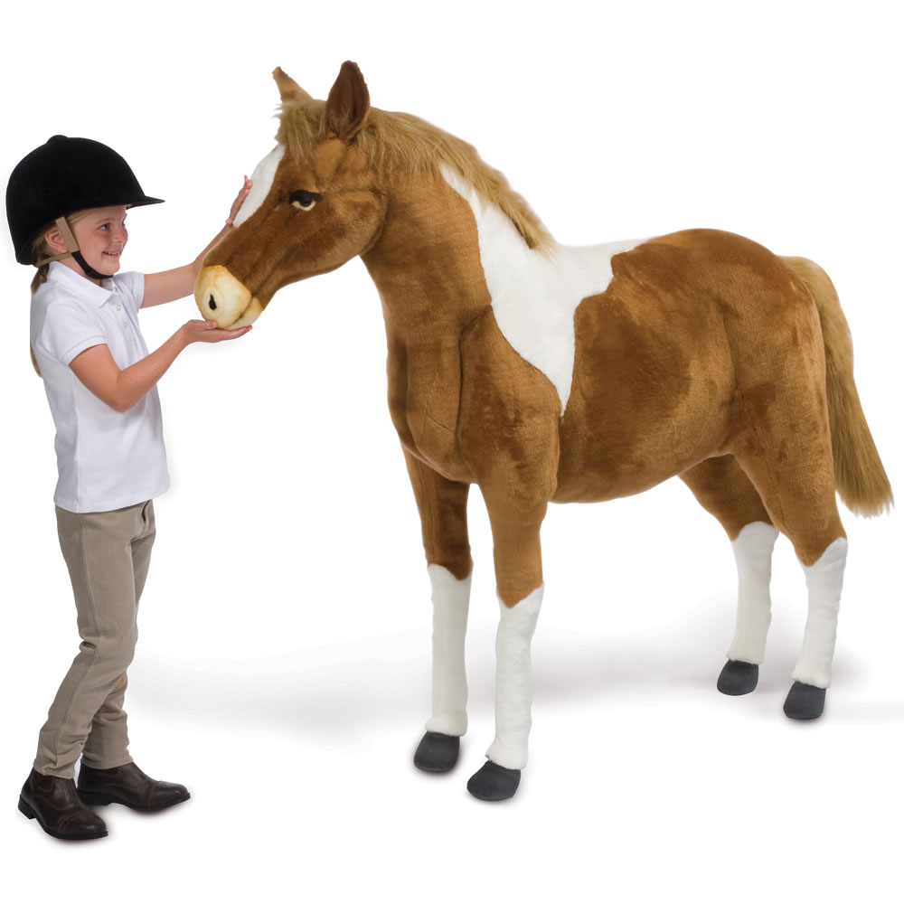 The 5 Ft  Realistic Paint Pony 1