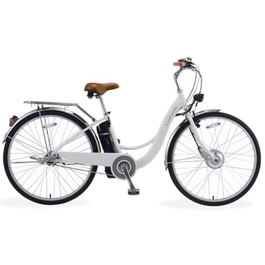 The Automatic Assist Power Bicycle.
