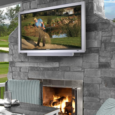 The 46 Inch Weather-Resistant Outdoor HD Television.
