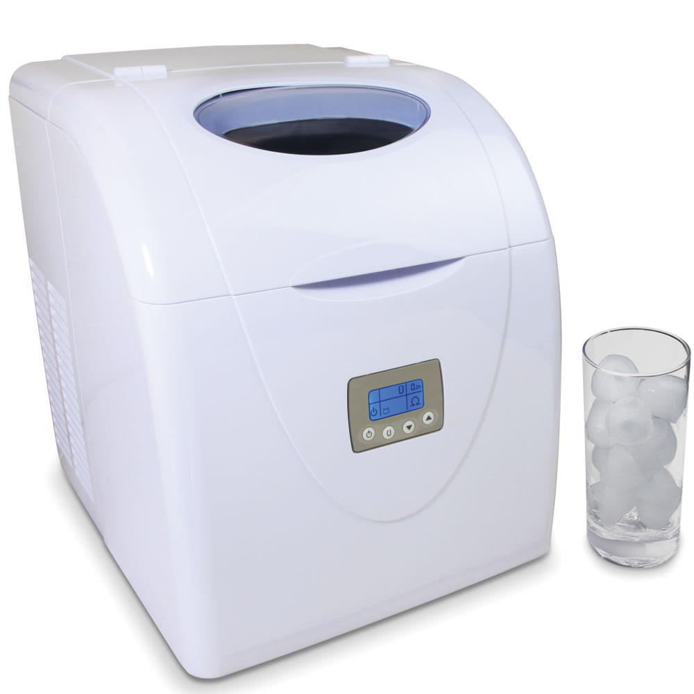Countertop Ice Cube Maker Canada : The High Capacity Countertop Ice Maker - Hammacher Schlemmer