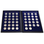 The Complete John F. Kennedy Half Dollar Collection.
