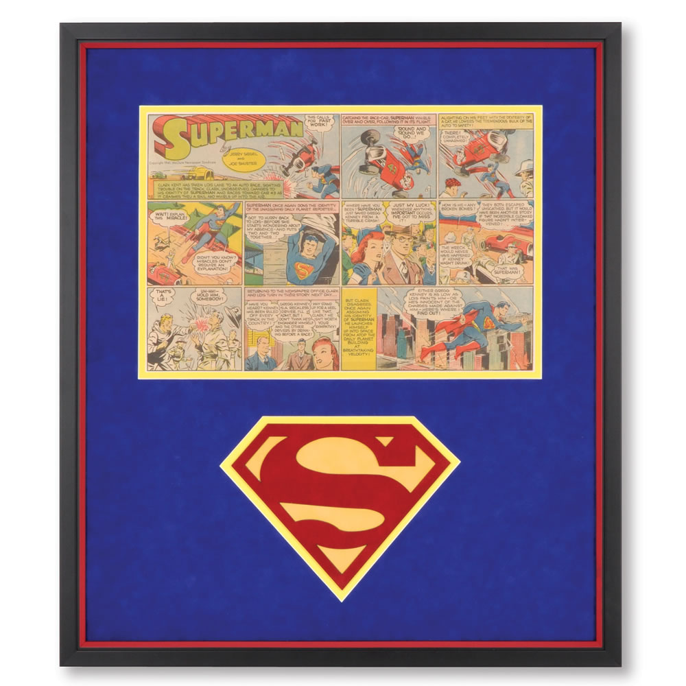 The Genuine 1940's Superman Comic Strip 1
