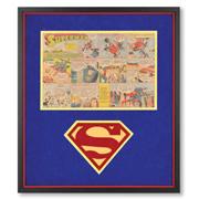 The Genuine 1940's Superman Comic Strip.