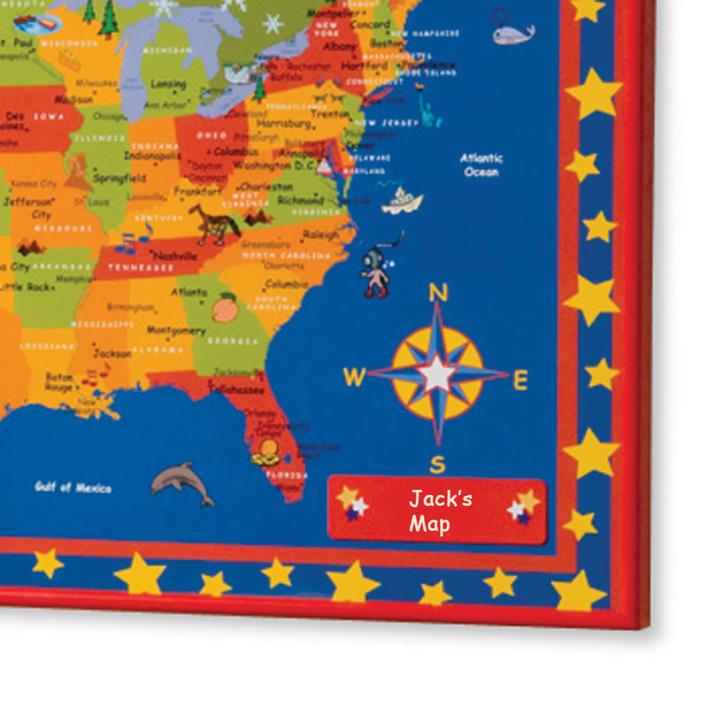 The Children's Personalized Travel Map 2