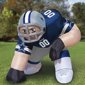 The Giant Inflatable Crouching NFL Player.