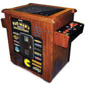 The 30th Anniversary Authentic Pac-Man Arcade Cocktail Table.