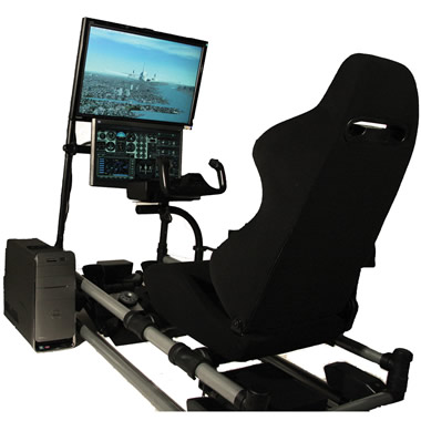 The Cockpit Flight Simulator.