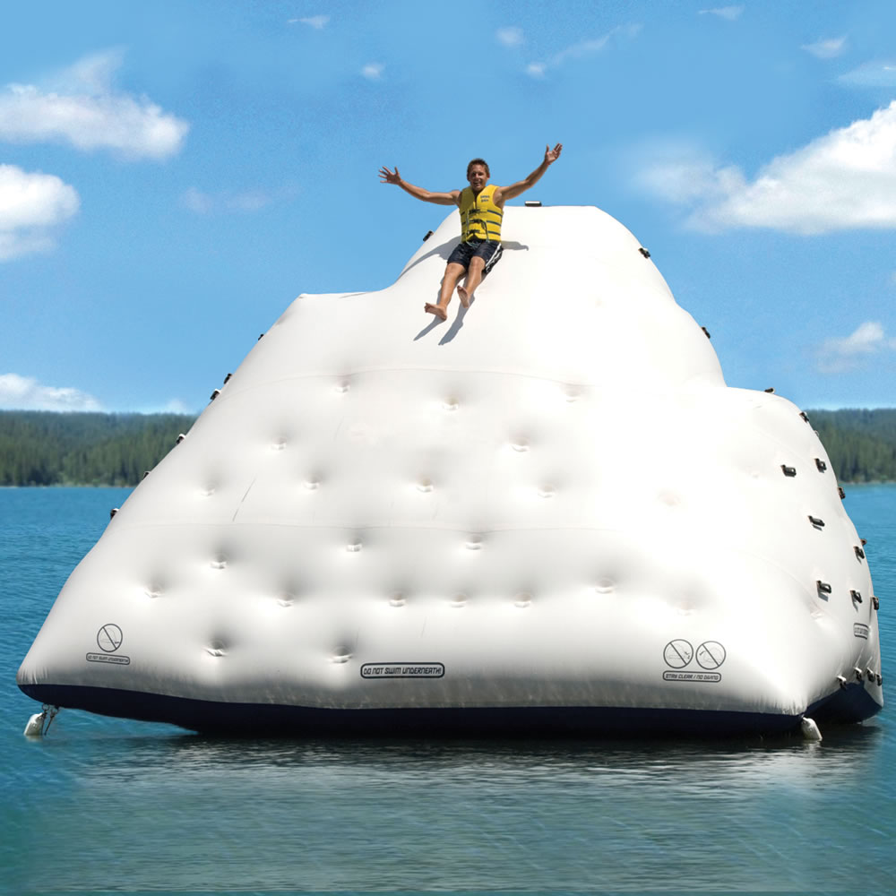 The Gigantic Inflatable Climbing Iceberg2
