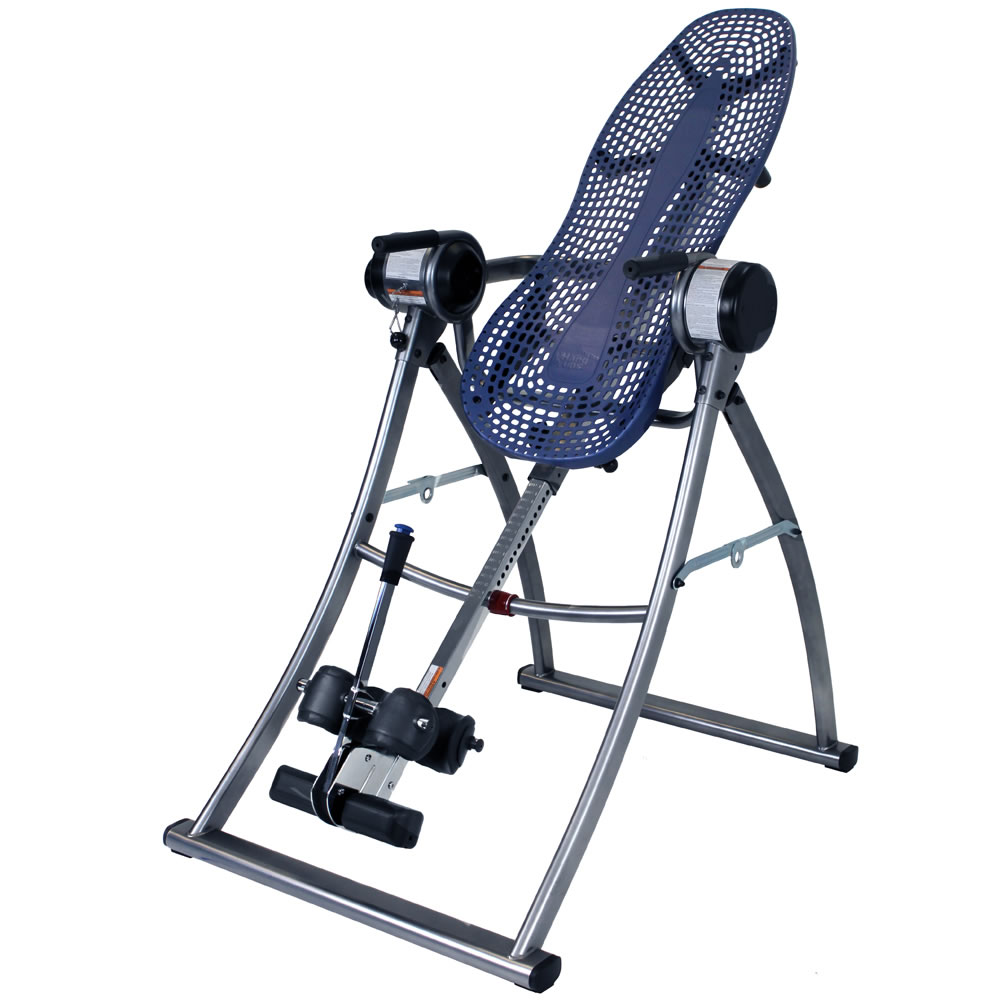 The motorized inversion table hammacher schlemmer for Table inversion