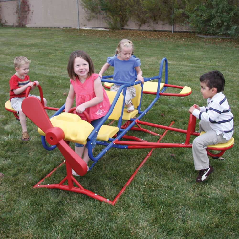 The Seven Child Airplane Teeter Totter 2