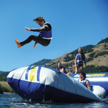 The Body Launching Inflatable.