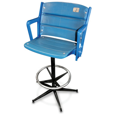 The Authentic Yankee Stadium Seat Barstool.