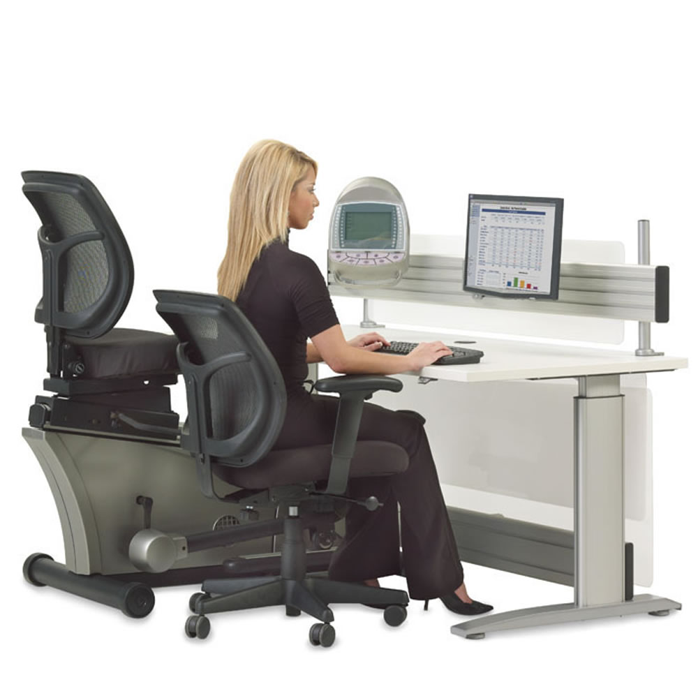 The Elliptical Machine Office Desk 2