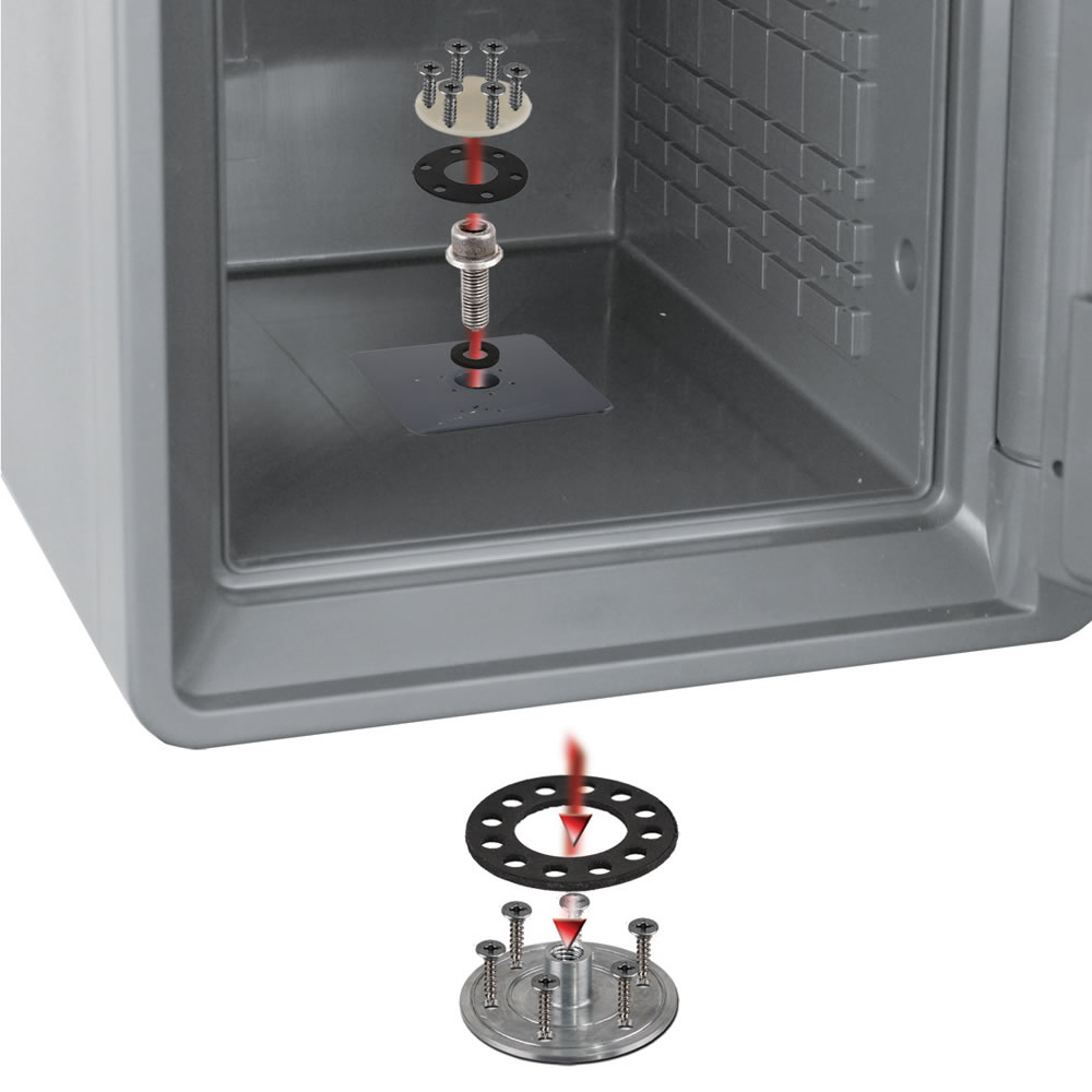 The Waterproof Bolt Down Safe2
