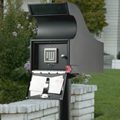 The Dead Bolt Mailbox.