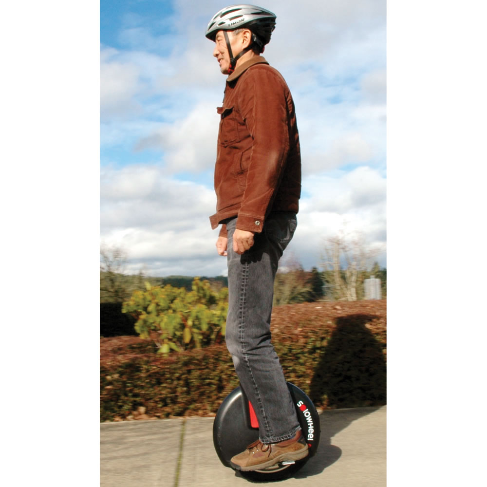 The Gyroscopic Electric Unicycle 1