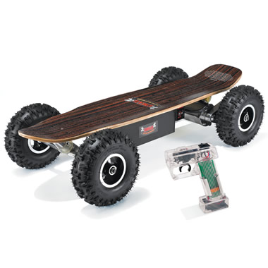 The All Terrain Electric Skateboard.