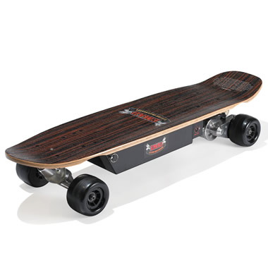 The 19 MPH Electric Street Skateboard.