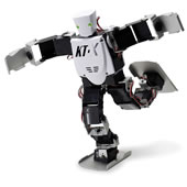 The Advanced Acrobatic Robot.